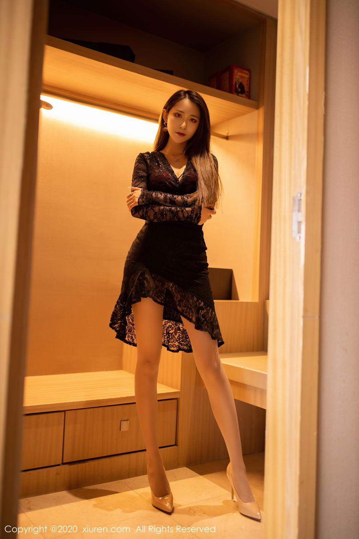 [XiuRen] Vol.2576 Zhou Mu Xi 42P, Slim, Underwear, Xiuren, Zhou Mu Xi