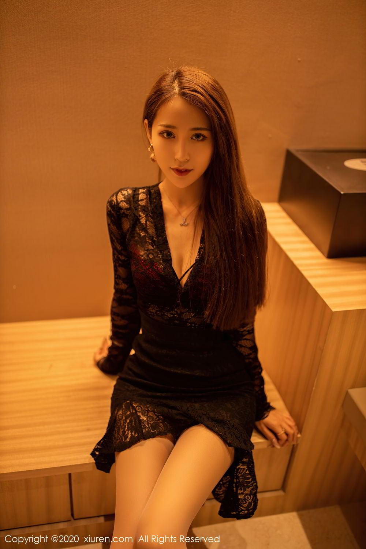 [XiuRen] Vol.2576 Zhou Mu Xi 4P, Slim, Underwear, Xiuren, Zhou Mu Xi