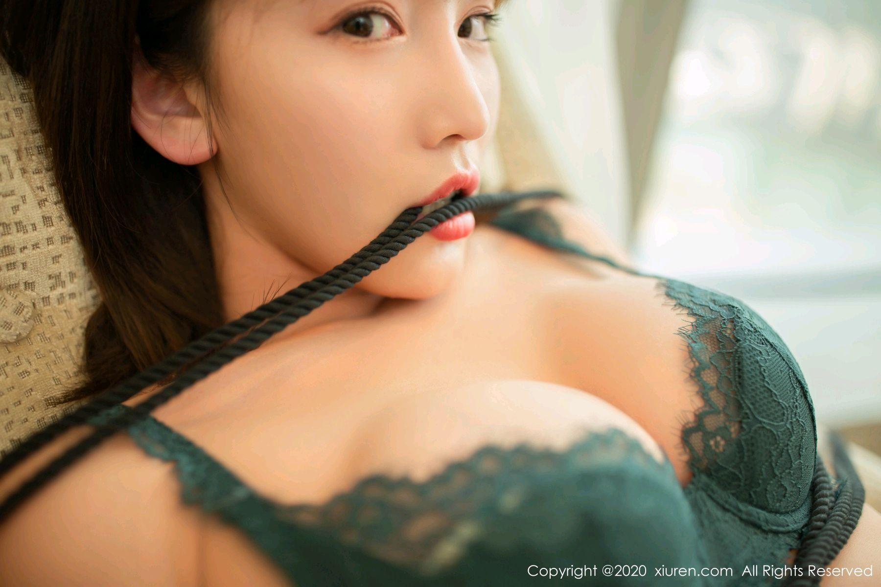 [XiuRen] Vol.2636 Lu Xuan Xuan 58P, Black Silk, Lu Xuan Xuan, Nurse, Uniform, Xiuren