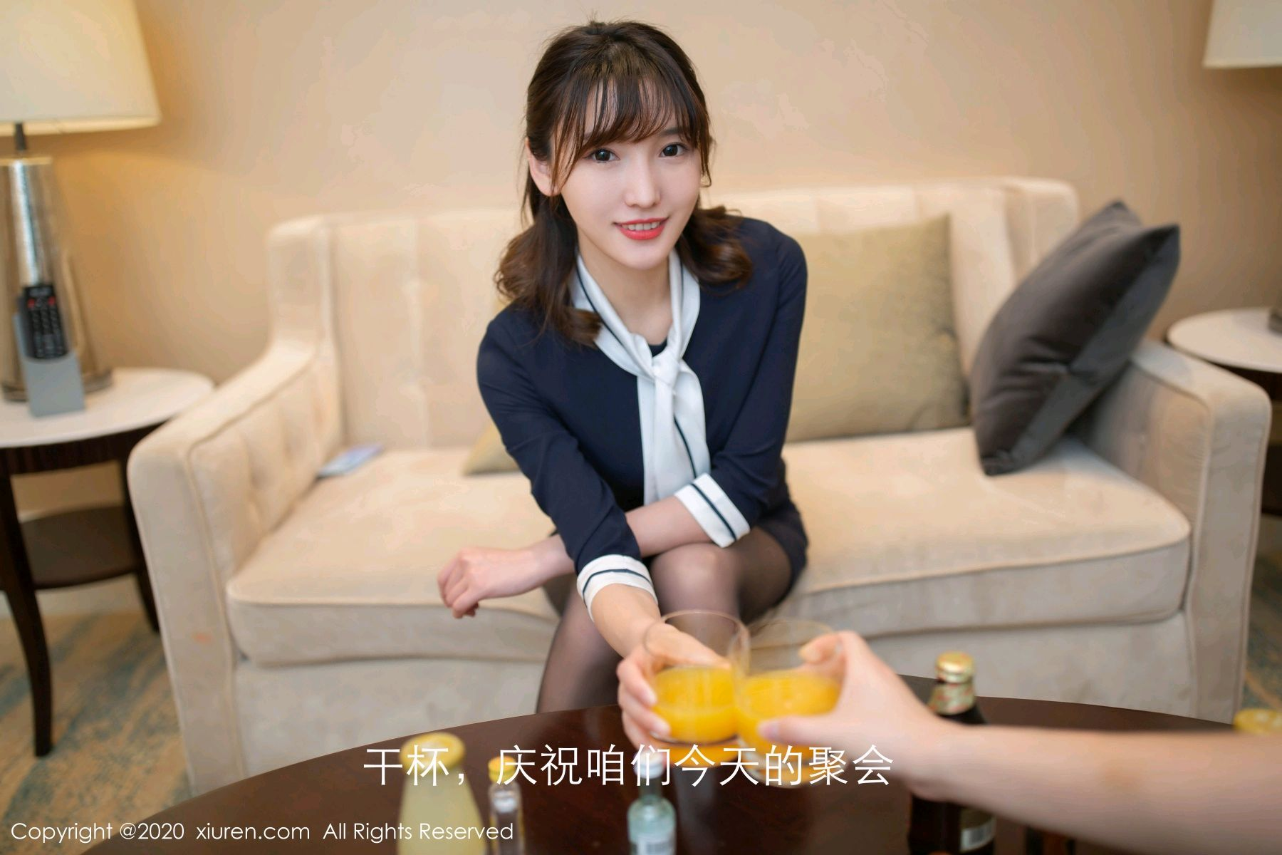 [XiuRen] Vol.2647 Lu Xuan Xuan 12P, Black Silk, Lu Xuan Xuan, Tall, Uniform, Xiuren