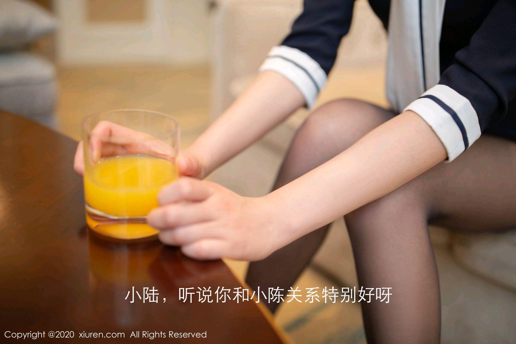 [XiuRen] Vol.2647 Lu Xuan Xuan 17P, Black Silk, Lu Xuan Xuan, Tall, Uniform, Xiuren