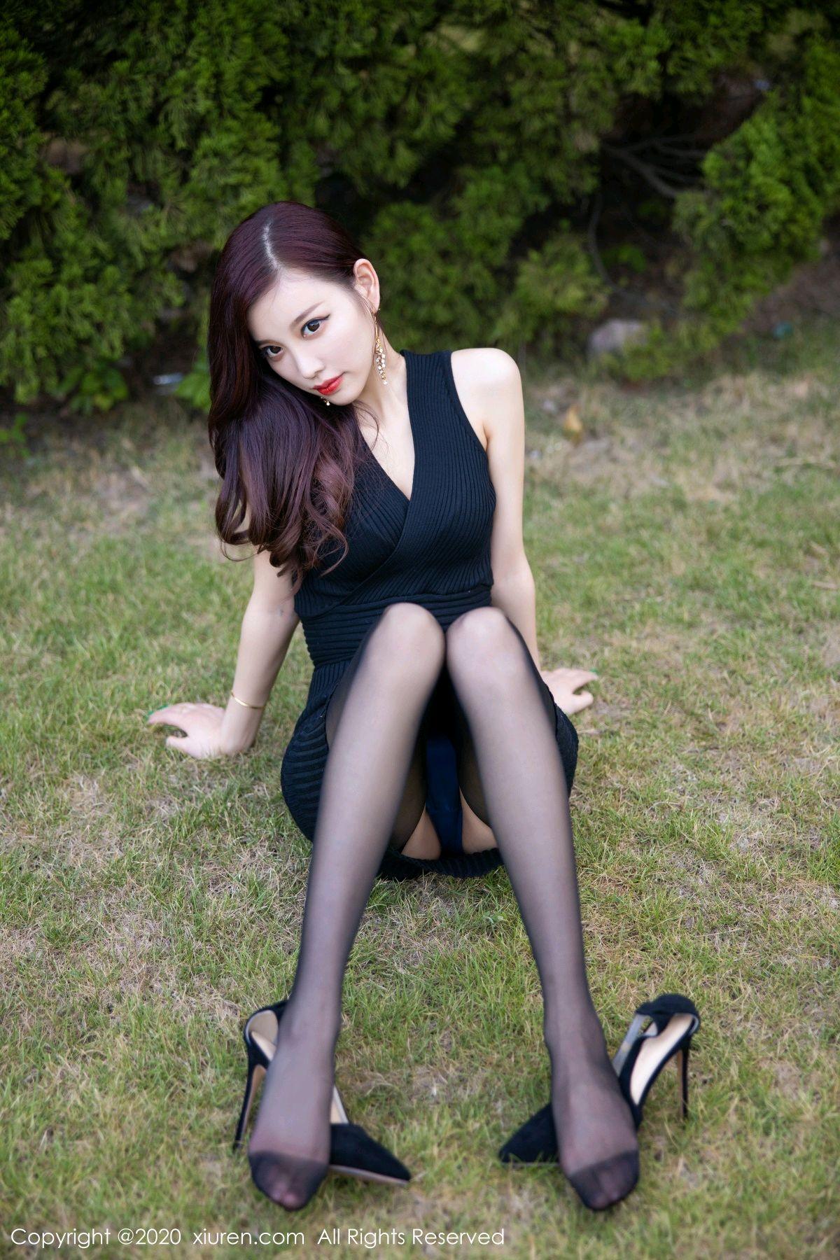 [XiuRen] Vol.2648 Yang Chen Chen 21P, Black Silk, Outdoor, Xiuren, Yang Chen Chen