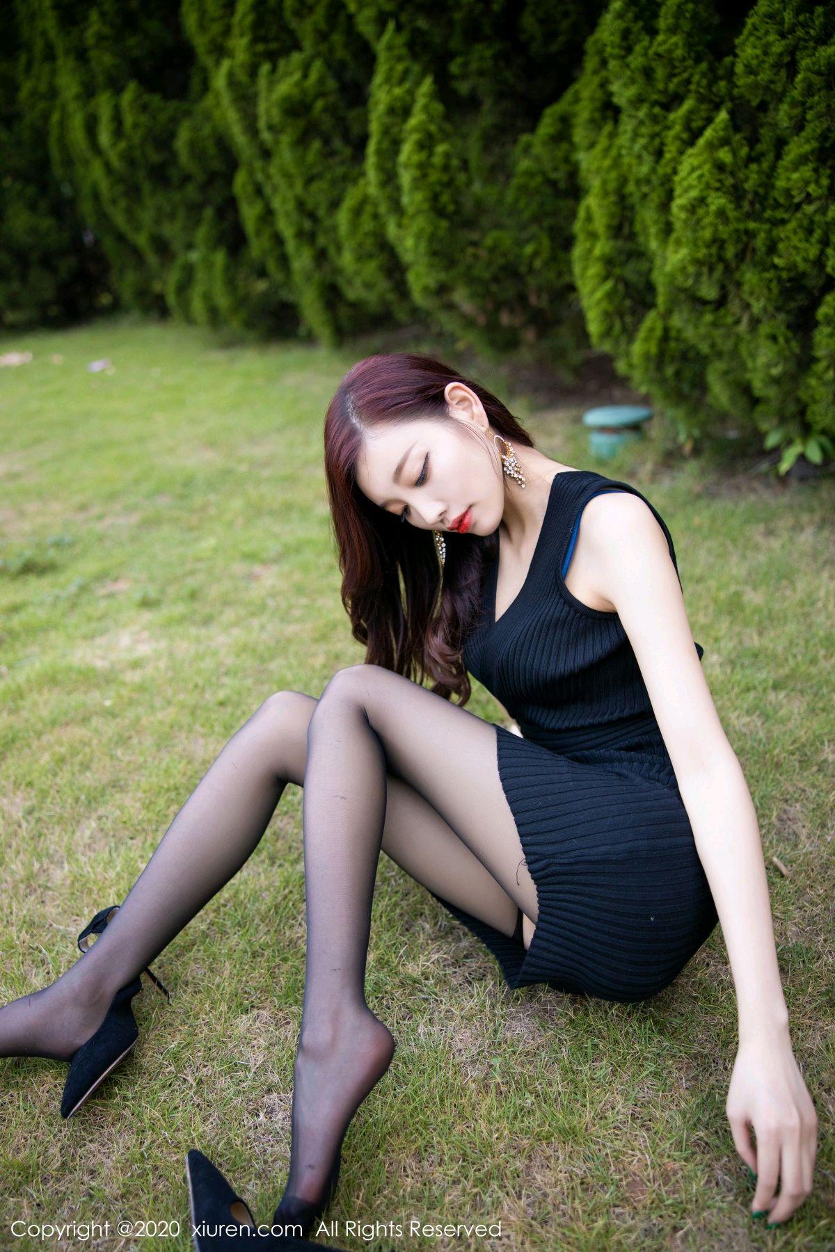 [XiuRen] Vol.2648 Yang Chen Chen 23P, Black Silk, Outdoor, Xiuren, Yang Chen Chen