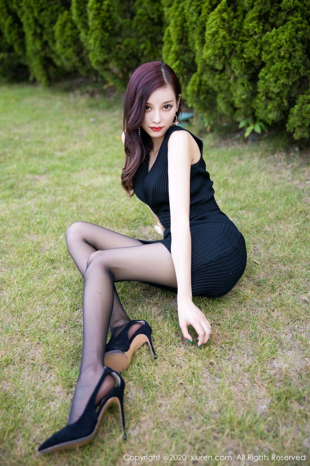 [XiuRen] Vol.2648 Yang Chen Chen 25P, Black Silk, Outdoor, Xiuren, Yang Chen Chen