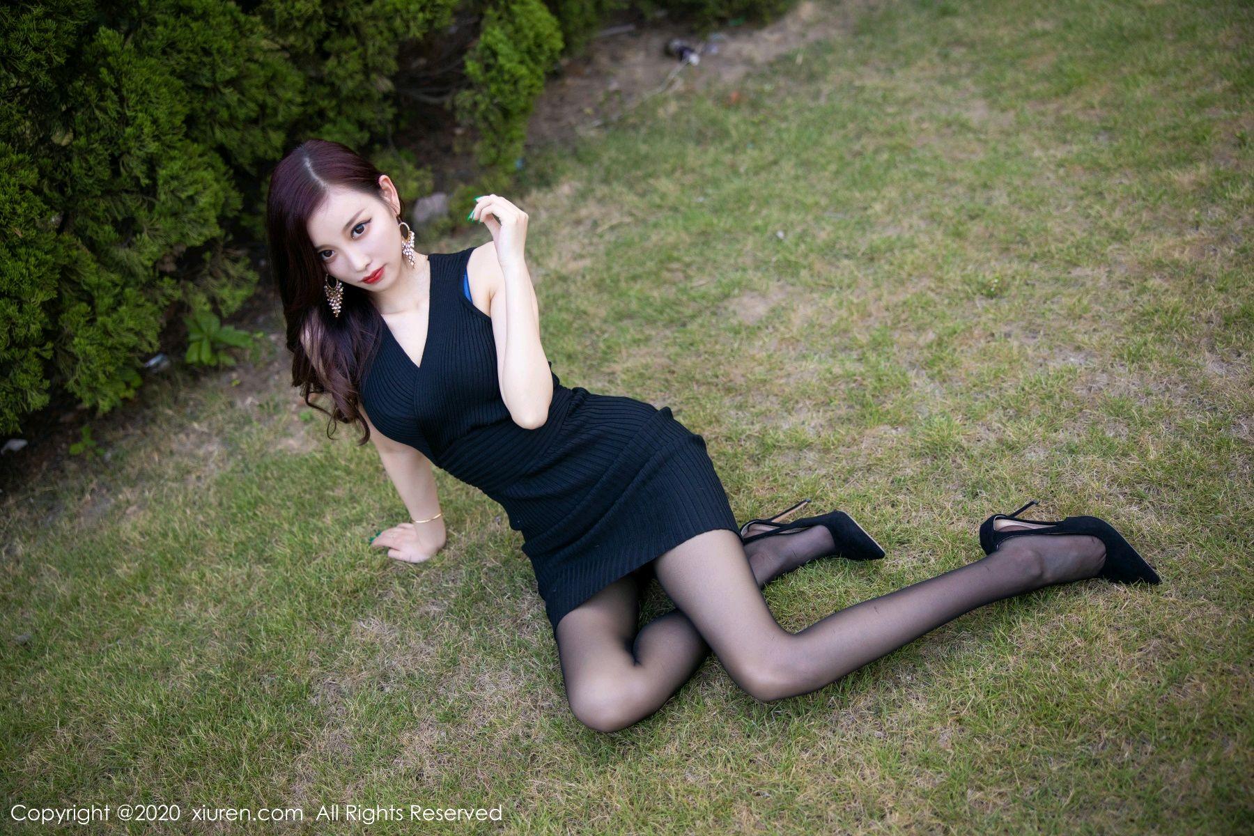 [XiuRen] Vol.2648 Yang Chen Chen 29P, Black Silk, Outdoor, Xiuren, Yang Chen Chen