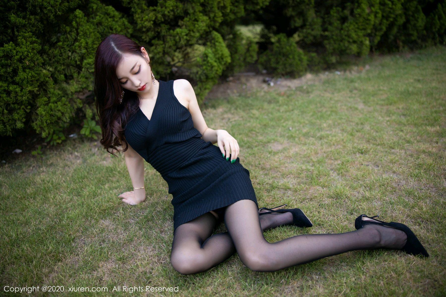 [XiuRen] Vol.2648 Yang Chen Chen 31P, Black Silk, Outdoor, Xiuren, Yang Chen Chen