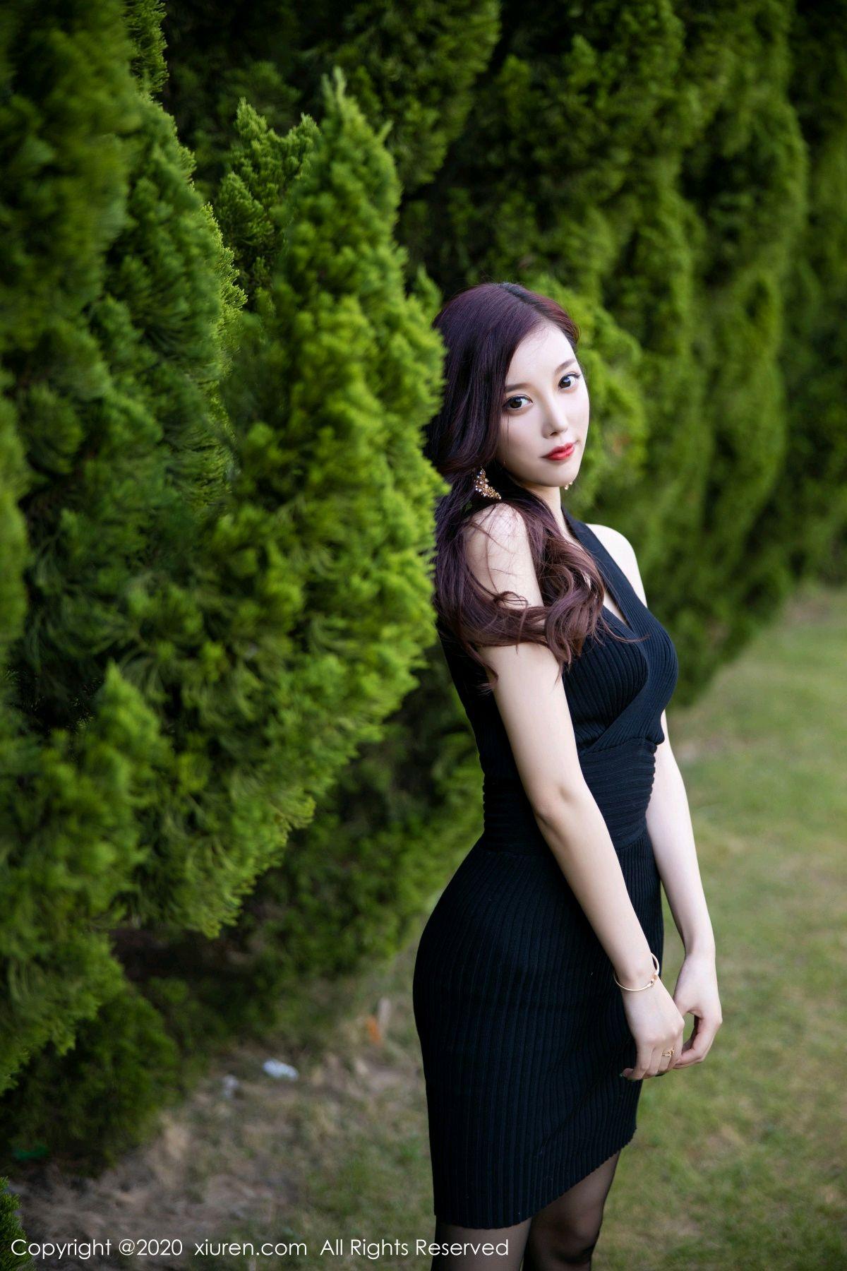 [XiuRen] Vol.2648 Yang Chen Chen 35P, Black Silk, Outdoor, Xiuren, Yang Chen Chen