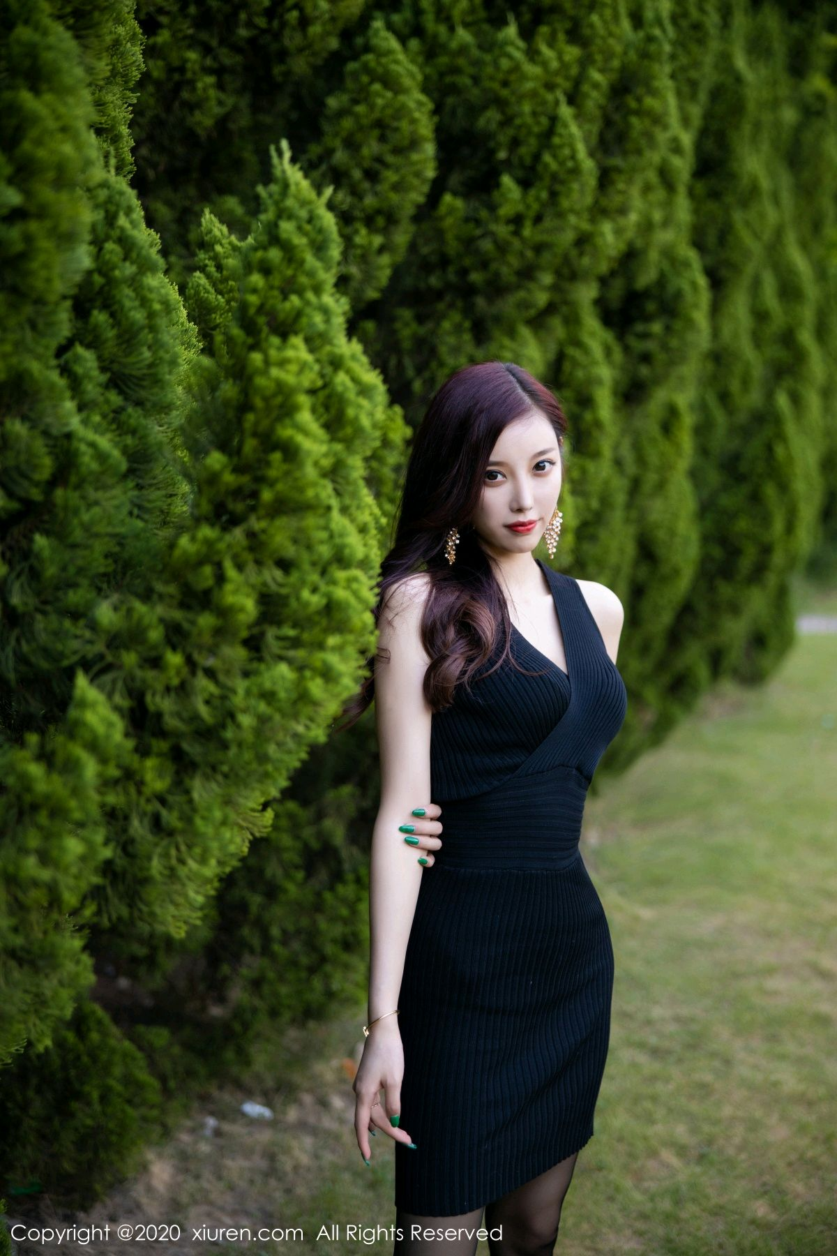 [XiuRen] Vol.2648 Yang Chen Chen 36P, Black Silk, Outdoor, Xiuren, Yang Chen Chen