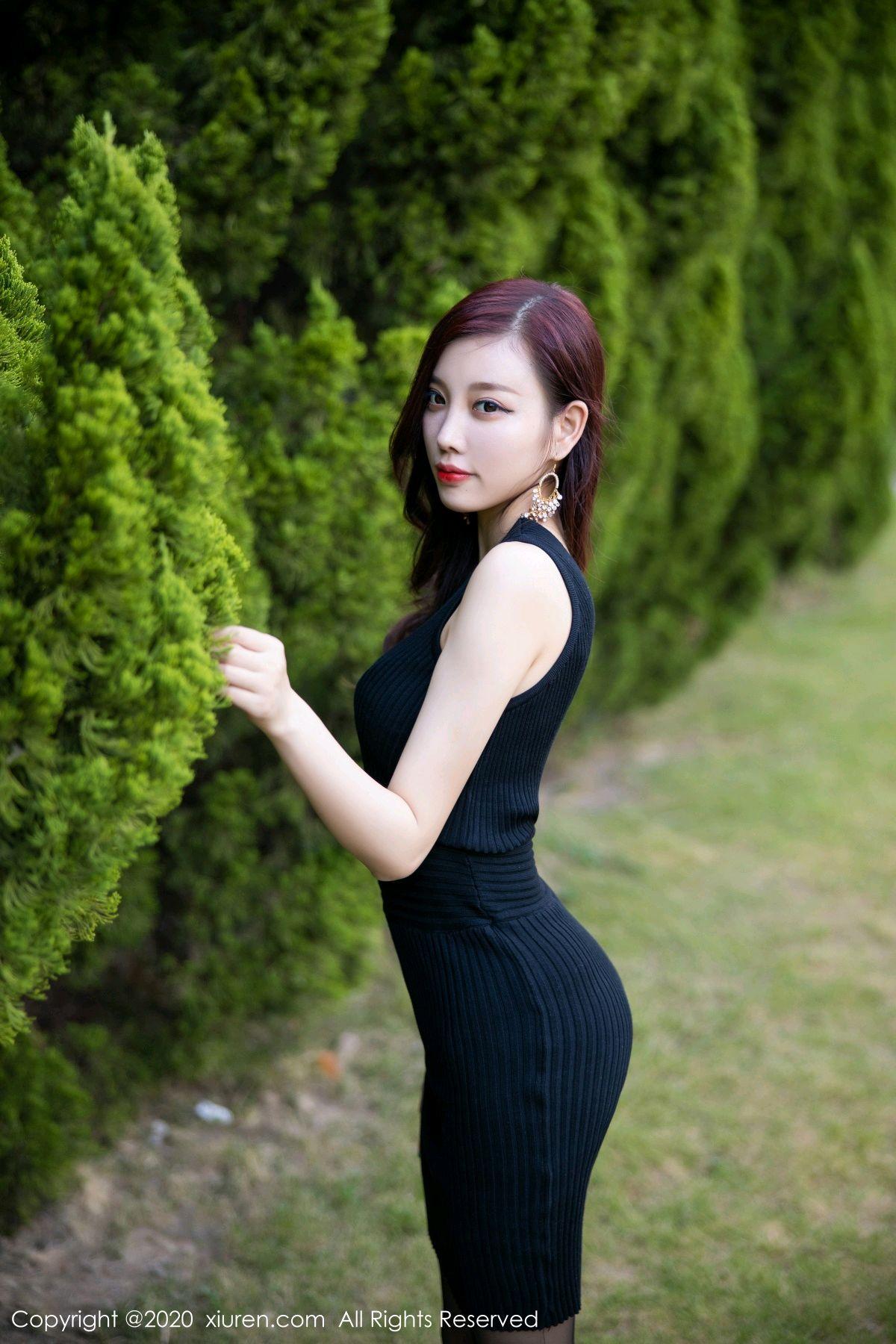 [XiuRen] Vol.2648 Yang Chen Chen 38P, Black Silk, Outdoor, Xiuren, Yang Chen Chen