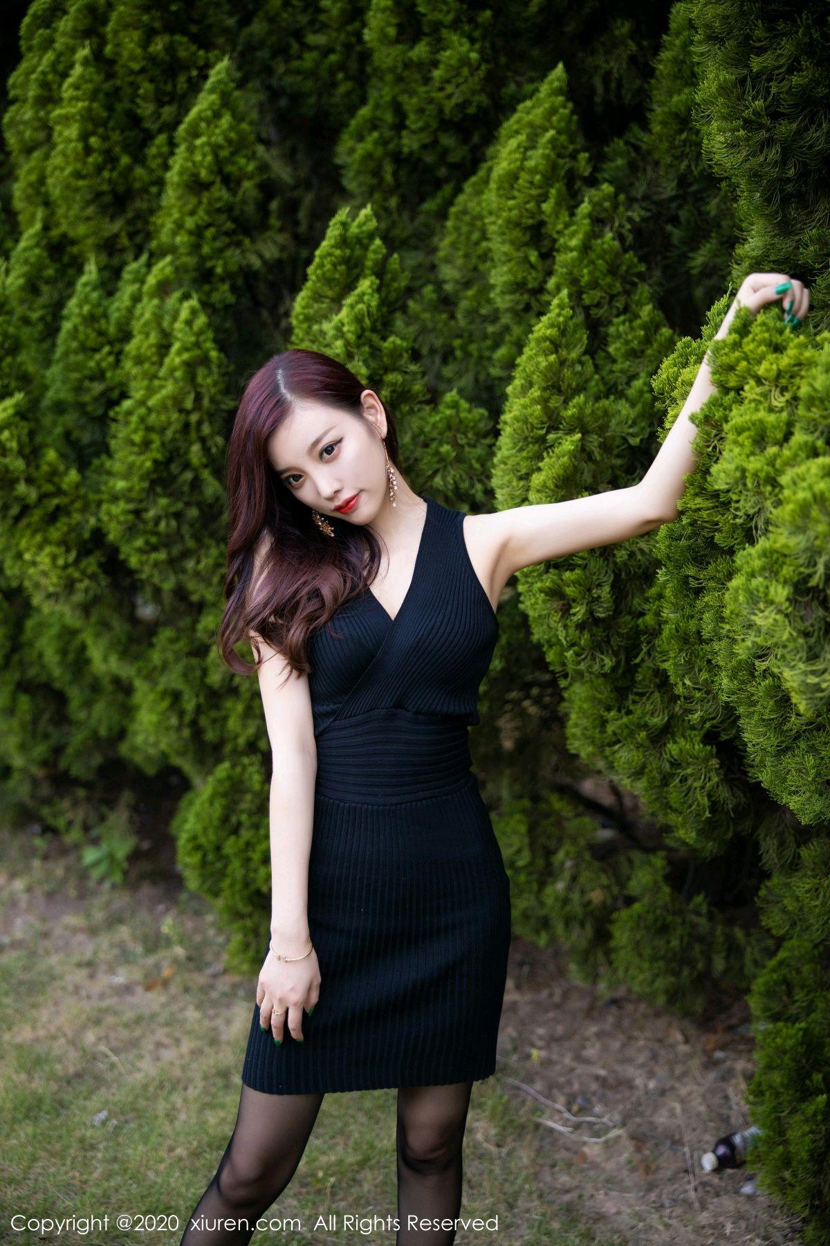 [XiuRen] Vol.2648 Yang Chen Chen 39P, Black Silk, Outdoor, Xiuren, Yang Chen Chen