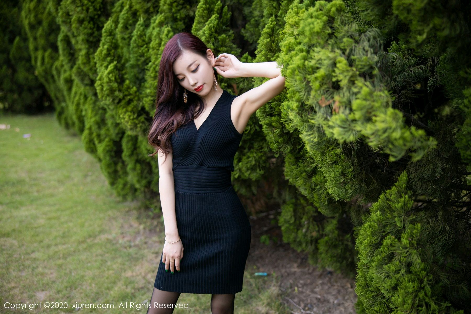 [XiuRen] Vol.2648 Yang Chen Chen 40P, Black Silk, Outdoor, Xiuren, Yang Chen Chen