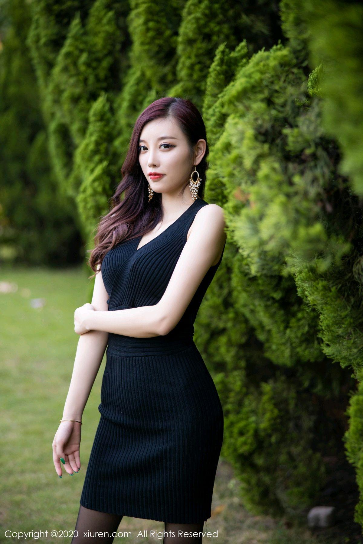 [XiuRen] Vol.2648 Yang Chen Chen 41P, Black Silk, Outdoor, Xiuren, Yang Chen Chen