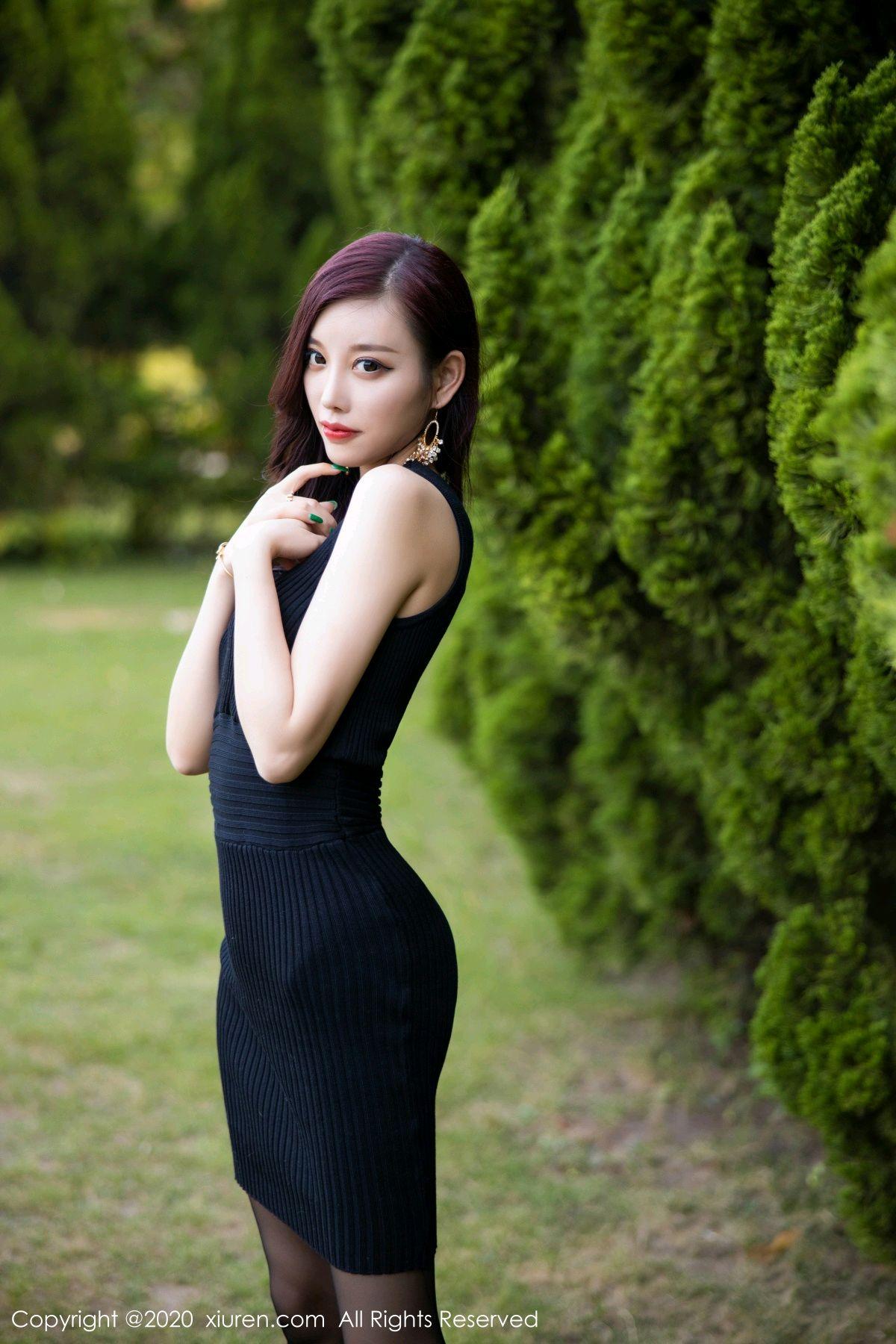[XiuRen] Vol.2648 Yang Chen Chen 42P, Black Silk, Outdoor, Xiuren, Yang Chen Chen