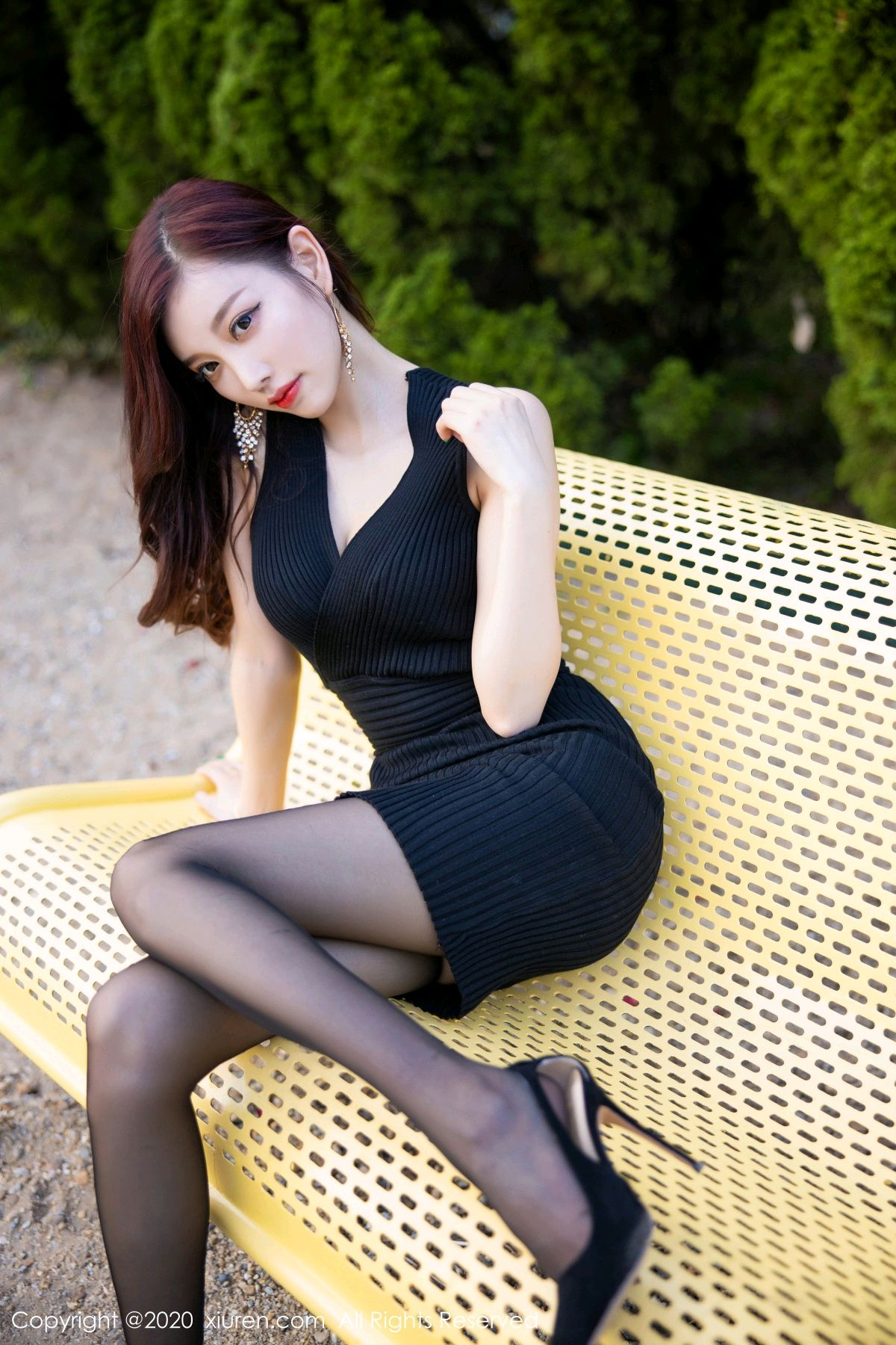 [XiuRen] Vol.2648 Yang Chen Chen 52P, Black Silk, Outdoor, Xiuren, Yang Chen Chen