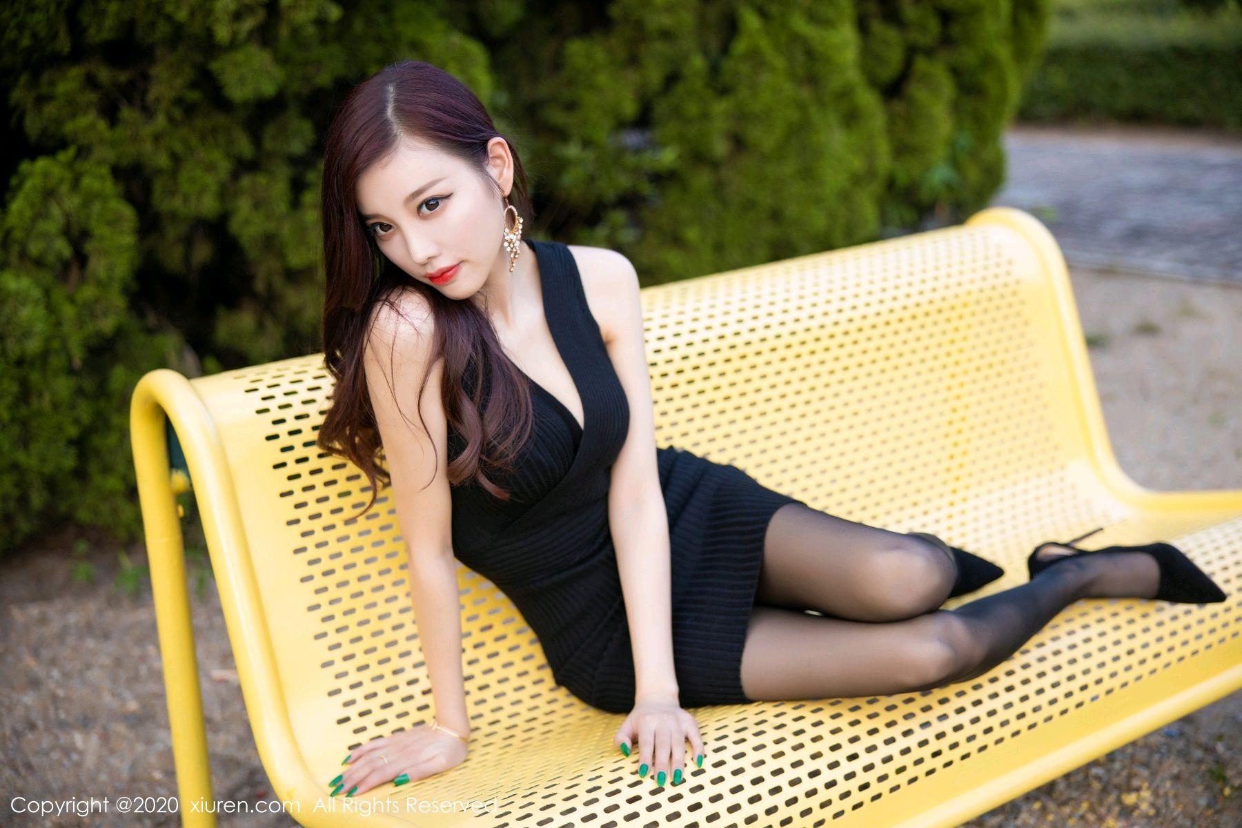 [XiuRen] Vol.2648 Yang Chen Chen 60P, Black Silk, Outdoor, Xiuren, Yang Chen Chen