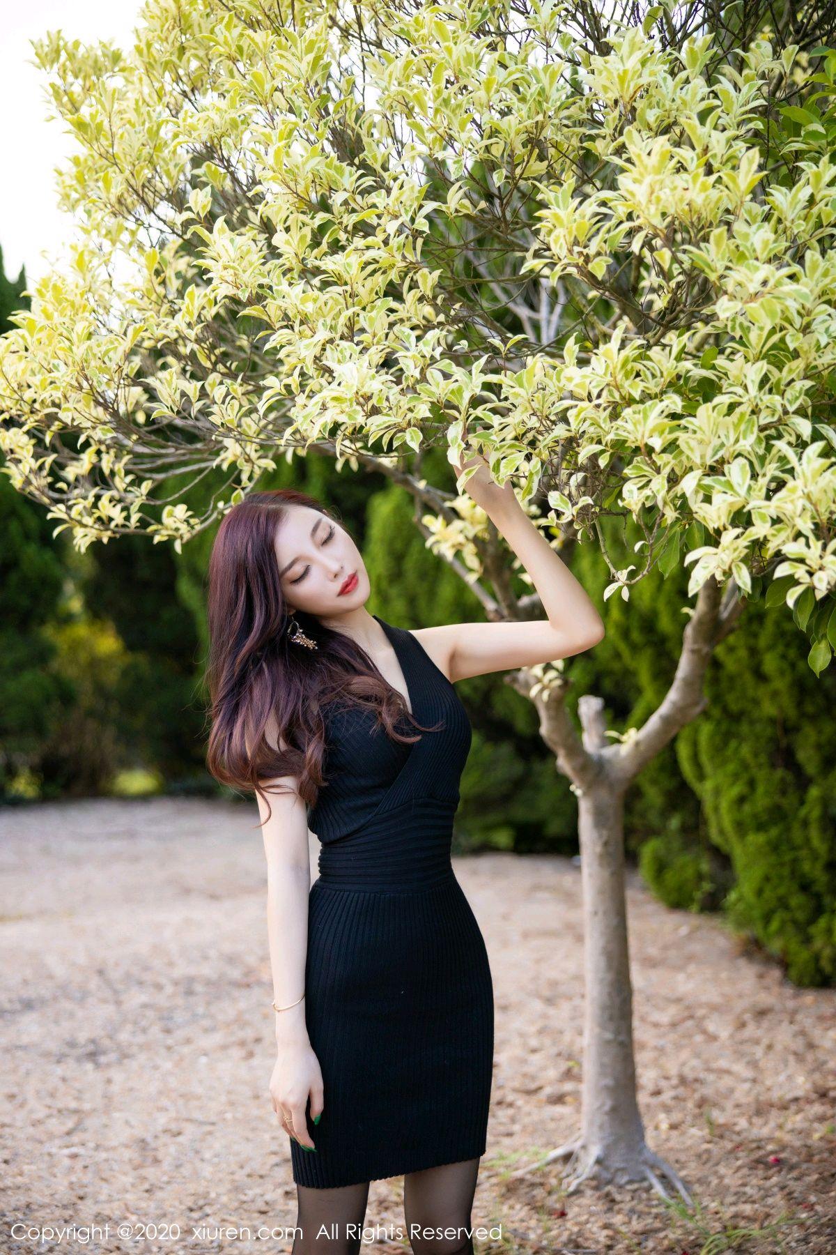 [XiuRen] Vol.2648 Yang Chen Chen 70P, Black Silk, Outdoor, Xiuren, Yang Chen Chen