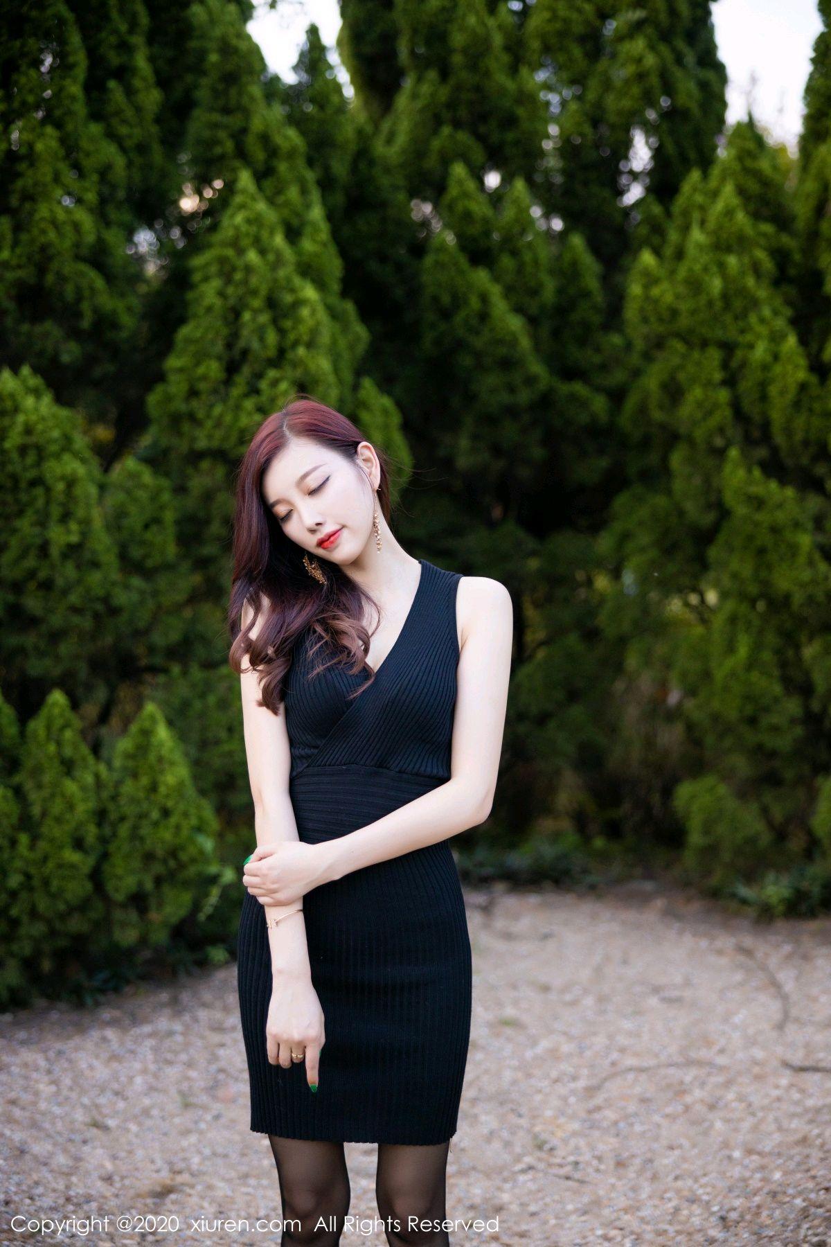 [XiuRen] Vol.2648 Yang Chen Chen 75P, Black Silk, Outdoor, Xiuren, Yang Chen Chen