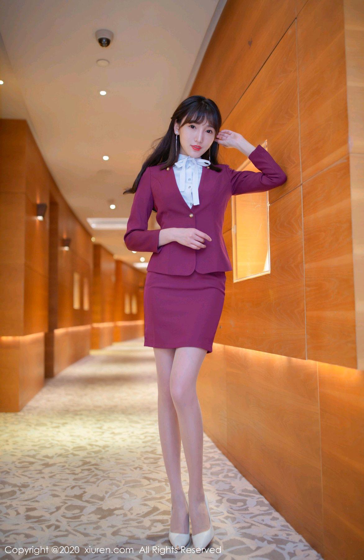 [XiuRen] Vol.2705 Lu Xuan Xuan 1P, Lu Xuan Xuan, Stewardess, Tall, Uniform, Xiuren