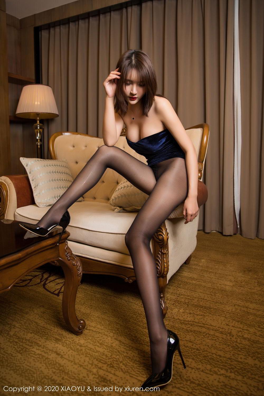 [XiuRen] Vol.273 Gu Nai Nai 14P, Black Silk, Solo Yi Fei, Underwear, Xiuren