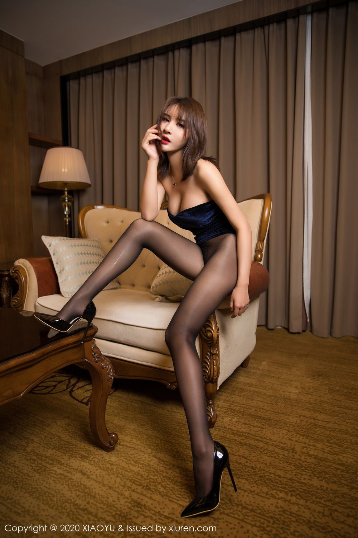 [XiuRen] Vol.273 Gu Nai Nai 15P, Black Silk, Solo Yi Fei, Underwear, Xiuren