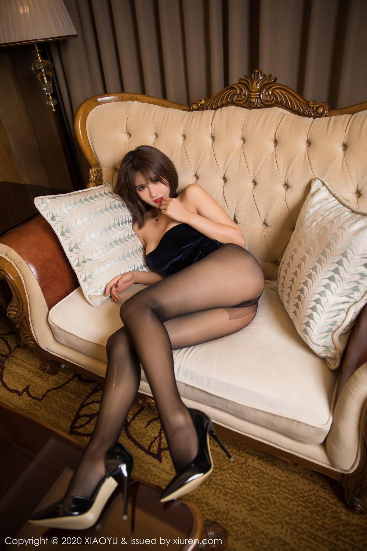 [XiuRen] Vol.273 Gu Nai Nai 25P, Black Silk, Solo Yi Fei, Underwear, Xiuren