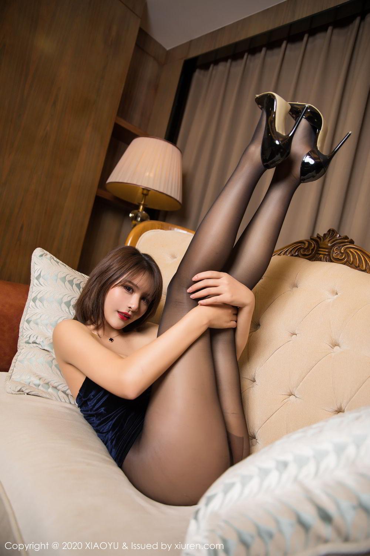 [XiuRen] Vol.273 Gu Nai Nai 32P, Black Silk, Solo Yi Fei, Underwear, Xiuren