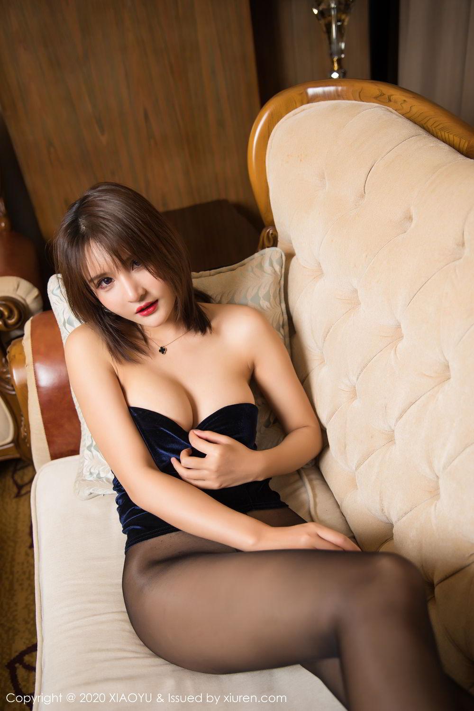 [XiuRen] Vol.273 Gu Nai Nai 35P, Black Silk, Solo Yi Fei, Underwear, Xiuren