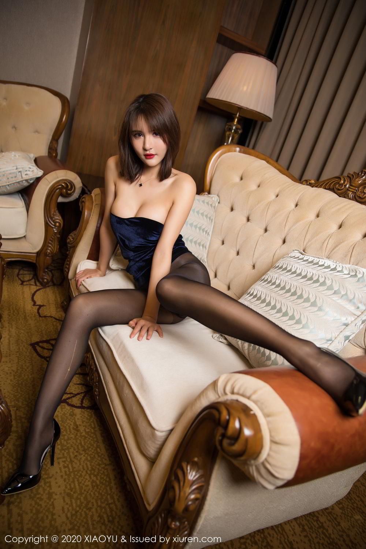 [XiuRen] Vol.273 Gu Nai Nai 37P, Black Silk, Solo Yi Fei, Underwear, Xiuren