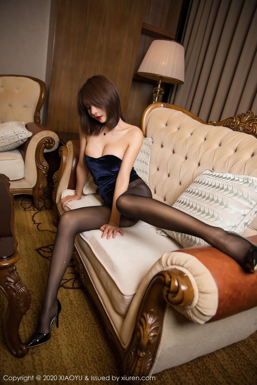 [XiuRen] Vol.273 Gu Nai Nai 38P, Black Silk, Solo Yi Fei, Underwear, Xiuren