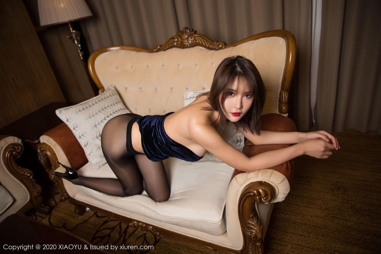 [XiuRen] Vol.273 Gu Nai Nai 42P, Black Silk, Solo Yi Fei, Underwear, Xiuren