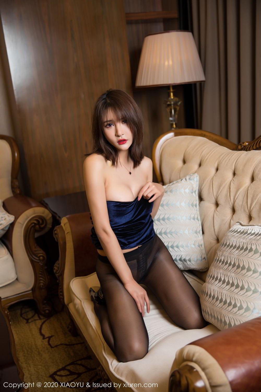 [XiuRen] Vol.273 Gu Nai Nai 45P, Black Silk, Solo Yi Fei, Underwear, Xiuren