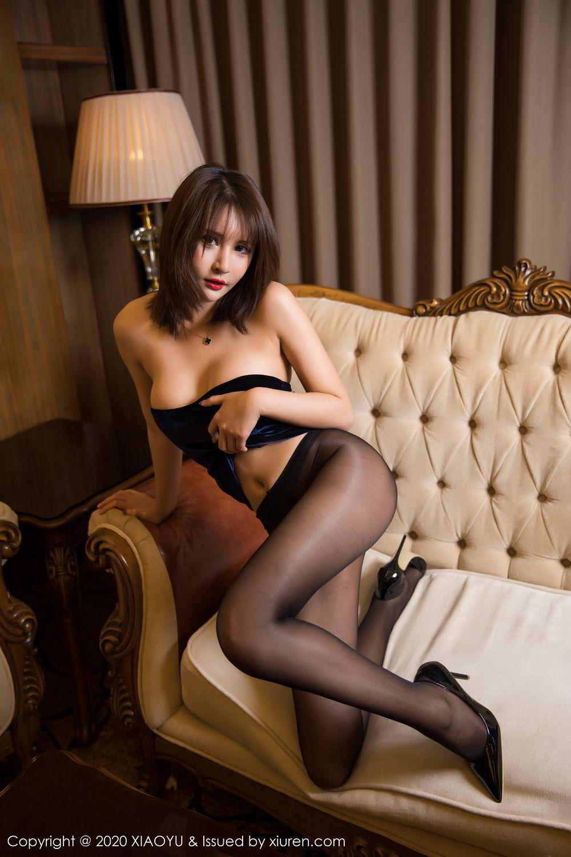 [XiuRen] Vol.273 Gu Nai Nai 48P, Black Silk, Solo Yi Fei, Underwear, Xiuren