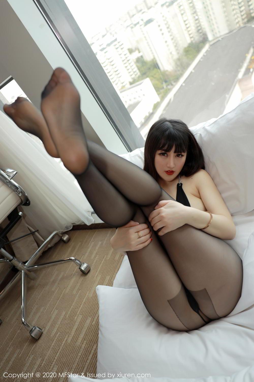 [XiuRen] Vol.294 Shi Shi Kiki 14P, Black Silk, Chen Shi Shi, Mature, Underwear, Xiuren