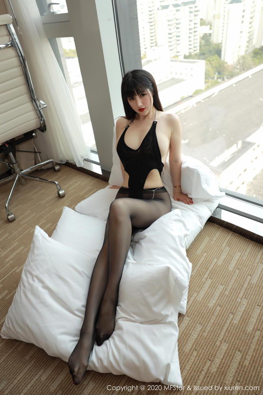 [XiuRen] Vol.294 Shi Shi Kiki 1P, Black Silk, Chen Shi Shi, Mature, Underwear, Xiuren