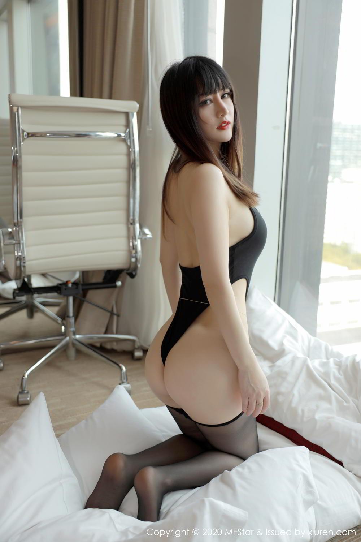 [XiuRen] Vol.294 Shi Shi Kiki 20P, Black Silk, Chen Shi Shi, Mature, Underwear, Xiuren