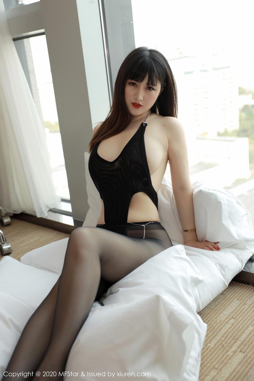 [XiuRen] Vol.294 Shi Shi Kiki 2P, Black Silk, Chen Shi Shi, Mature, Underwear, Xiuren