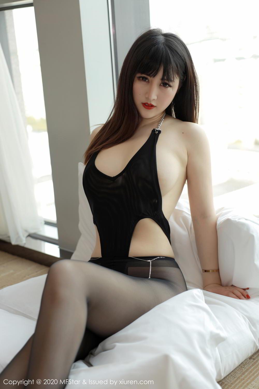 [XiuRen] Vol.294 Shi Shi Kiki 3P, Black Silk, Chen Shi Shi, Mature, Underwear, Xiuren