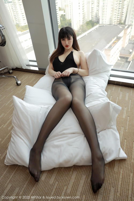 [XiuRen] Vol.294 Shi Shi Kiki 4P, Black Silk, Chen Shi Shi, Mature, Underwear, Xiuren