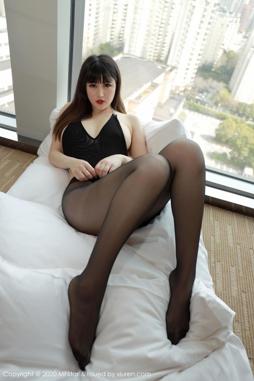 [XiuRen] Vol.294 Shi Shi Kiki 6P, Black Silk, Chen Shi Shi, Mature, Underwear, Xiuren