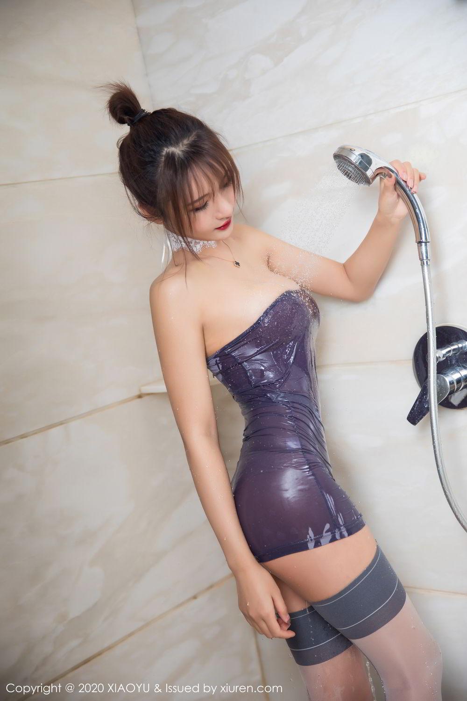 [XiuRen] Vol.303 Solo Yi Fei 4P, Bathroom, Solo Yi Fei, Underwear, Wet, Xiuren