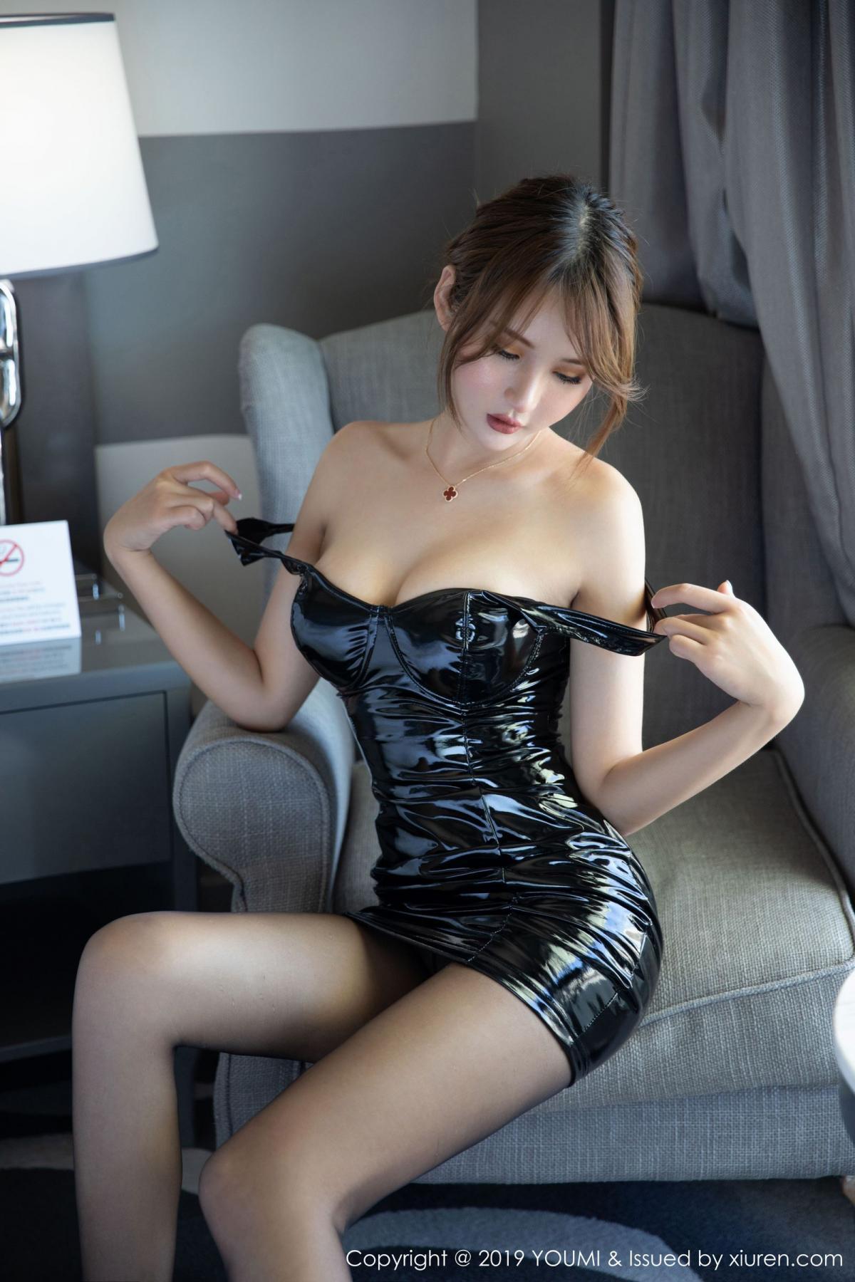 [XiuRen] Vol.338 Solo Yi Fei 6P, Black Silk, Solo Yi Fei, Xiuren