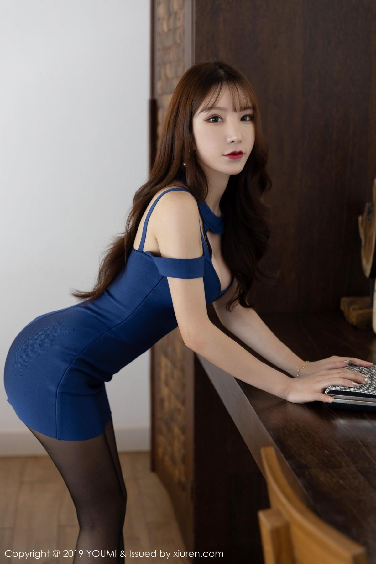 [XiuRen] Vol.351 Zhou Yu Xi 11P, Black Silk, Xiuren, Zhou Yu Xi