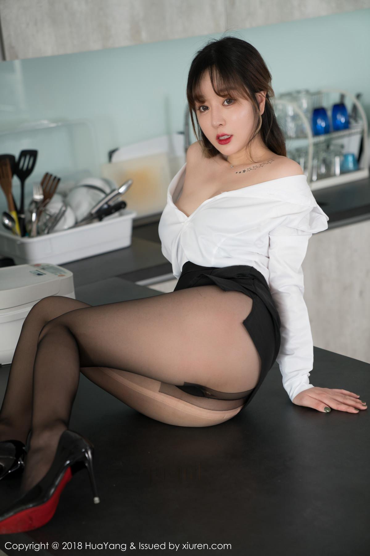 HuaYang VOL.042 34P, HuaYang, Wang Yu Chun