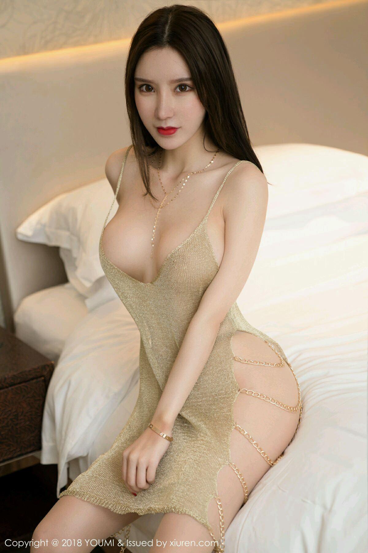 HuaYang VOL.047 2P, HuaYang, Zhou Yu Xi