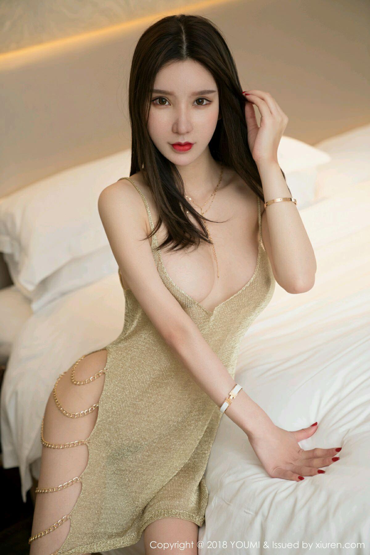HuaYang VOL.047 4P, HuaYang, Zhou Yu Xi