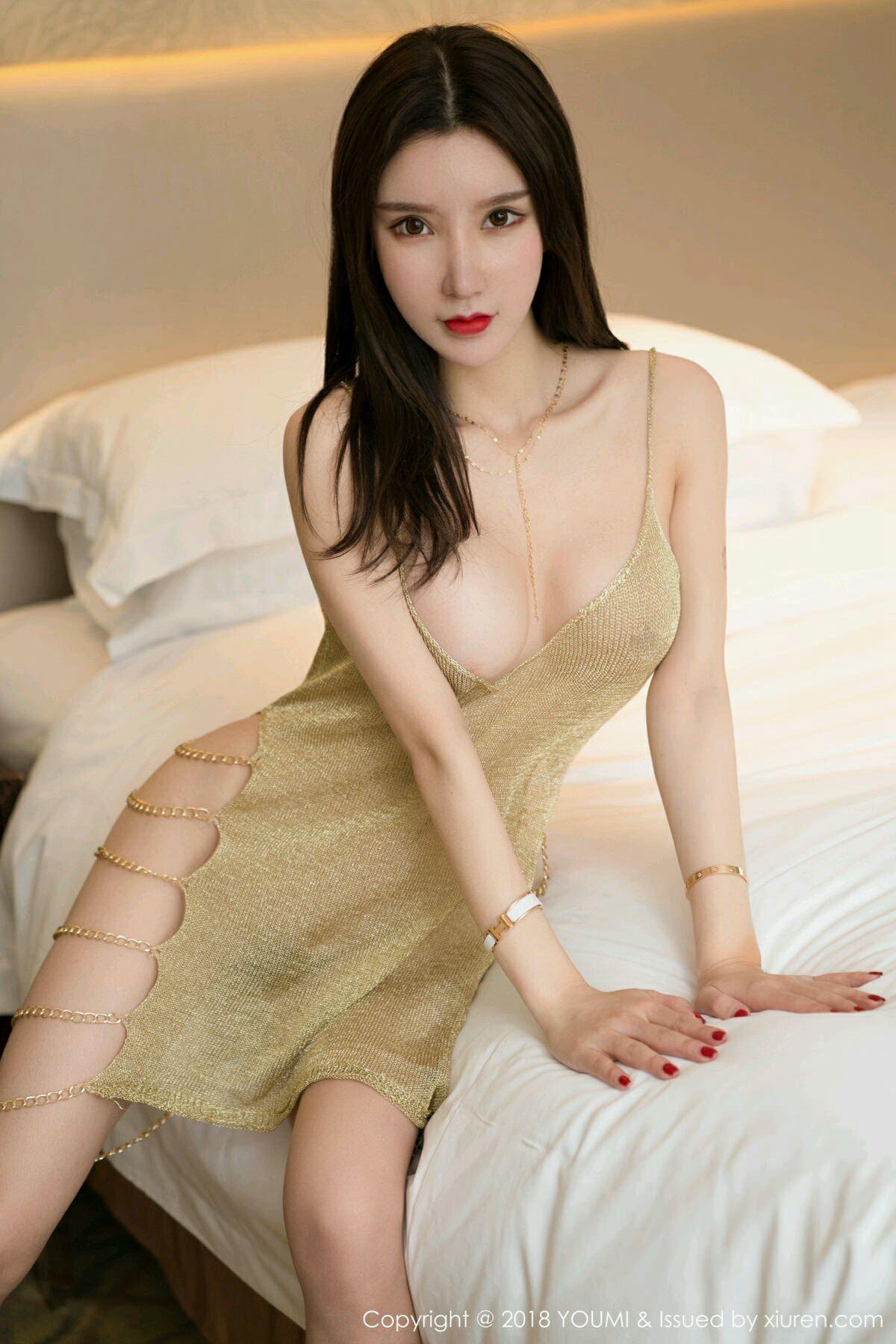 HuaYang VOL.047 5P, HuaYang, Zhou Yu Xi