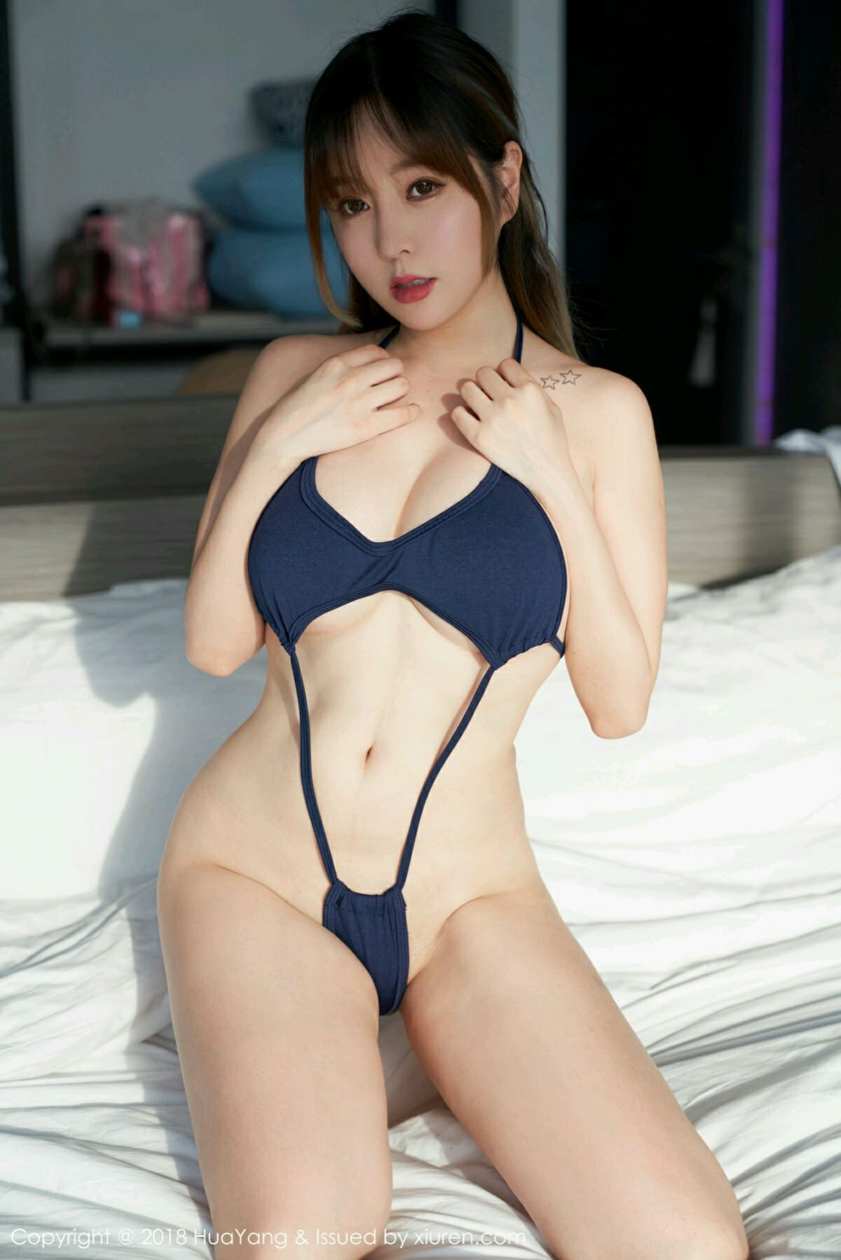HuaYang VOL.049 13P, HuaYang, Wang Yu Chun