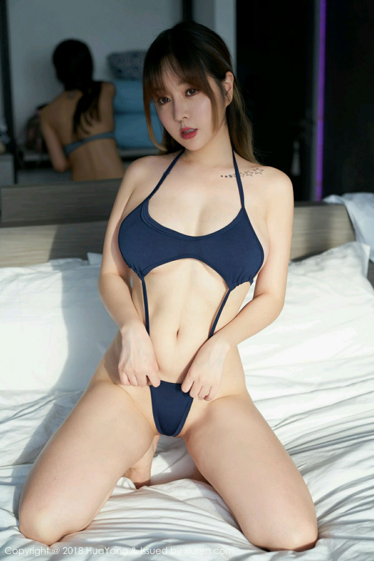 HuaYang VOL.049 2P, HuaYang, Wang Yu Chun