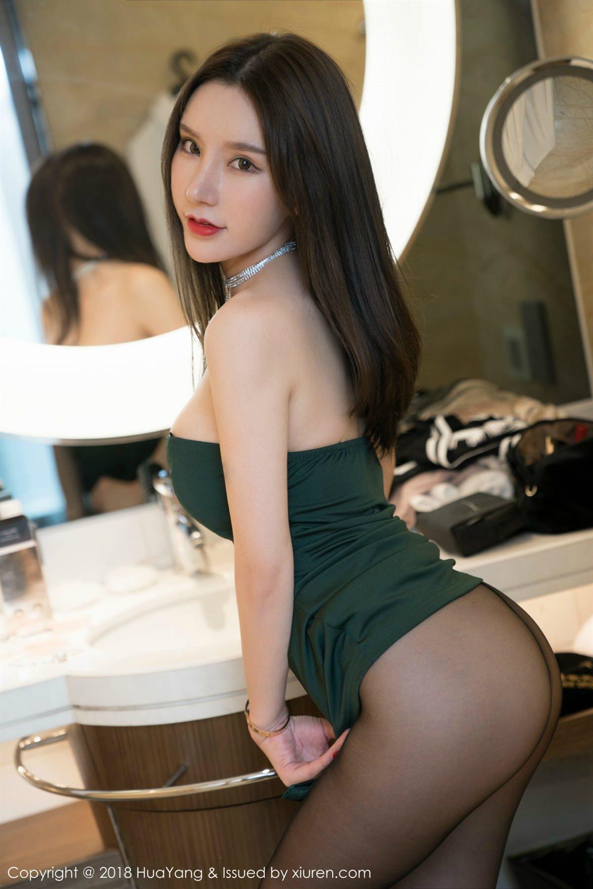 HuaYang Vol.057 17P, HuaYang, Zhou Yu Xi