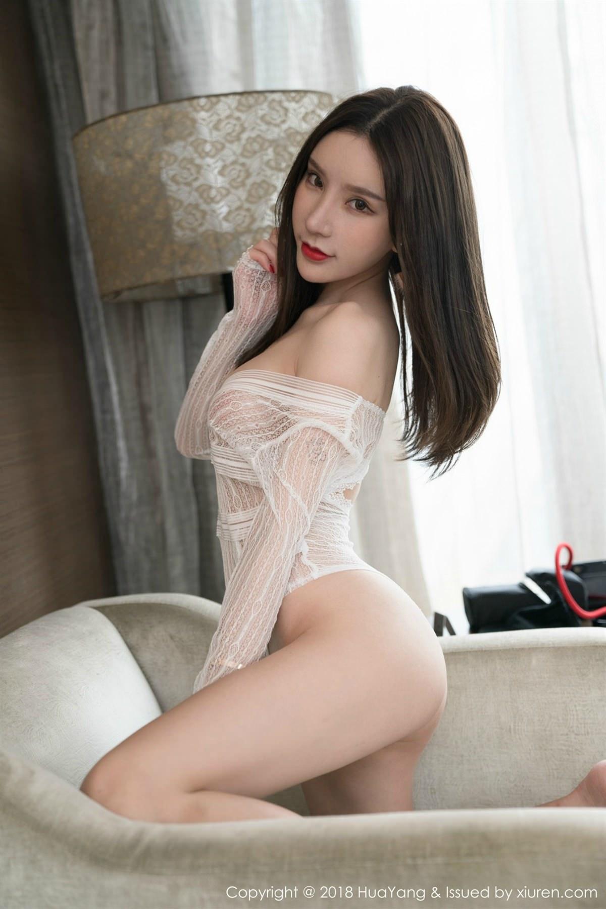HuaYang Vol.057 37P, HuaYang, Zhou Yu Xi